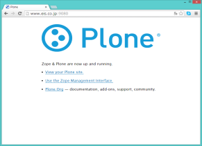 Plone3.2.x Top page